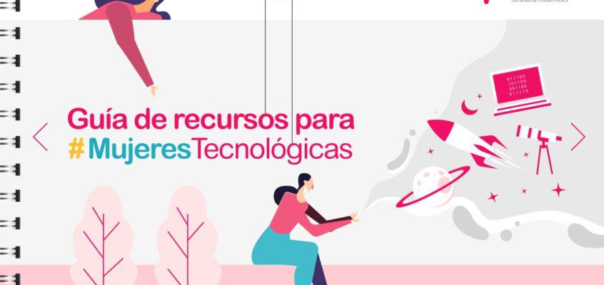 Actualización Guía de recursos para #MujeresTecnológicas